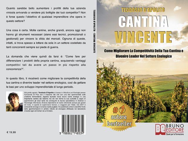Teodosio D'Apolito, Cantina Vincente: Il Bestseller che insegna come diventare leader nel settore enologico