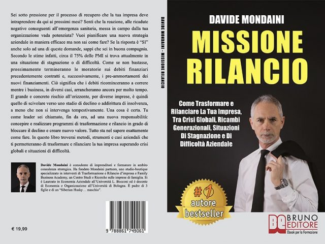 Davide Mondaini, Missione Rilancio: Il Bestseller che insegna come rigenerare la propria azienda