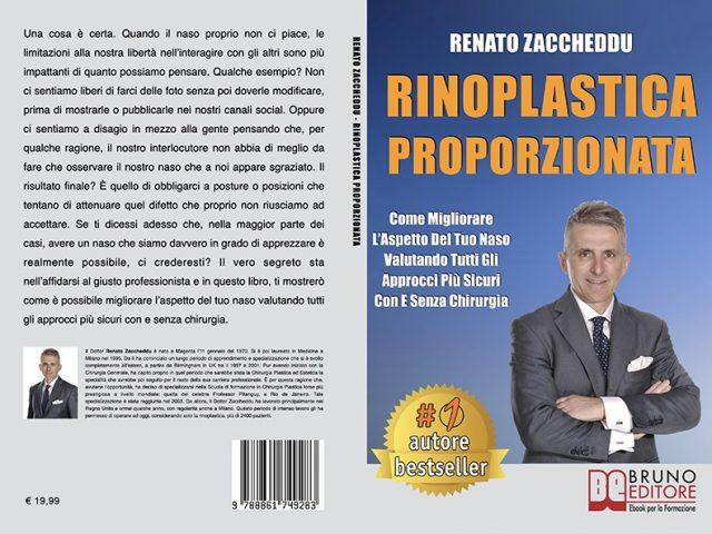 Renato Zaccheddu, Rinoplastica Proporzionata: Il Bestseller che mostra l'impatto di un intervento di rinoplastica sulla propria autostima