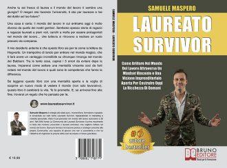 """Samuele Maspero è con gli studenti: Bestseller """"Laureato Survivor"""", il libro per avere successo dopo l'università"""