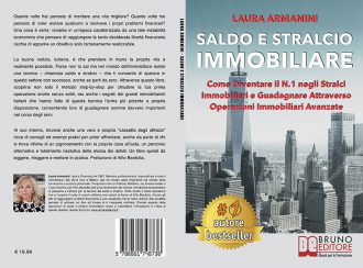 """Libri: """"Saldo E Stralcio Immobiliare"""" di Laura Armanini rivela come guadagnare con il saldo e stralcio immobiliare"""