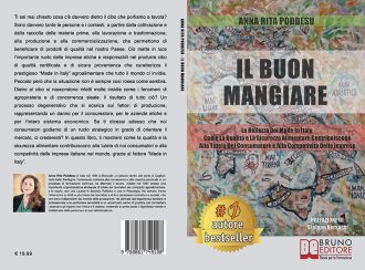 Anna Rita Poddesu, Il Buon Mangiare: Il Bestseller che insegna come valorizzare i prodotti del Made In Italy