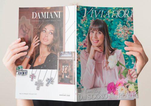 Viviana Grunert: il successo di un magazine si misura in minuti. Per VIVI A FIORI sono 17.000 minuti letti in 7 giorni, da 26 Paesi