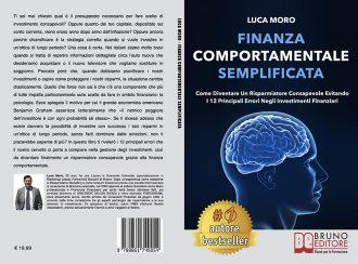 Luca Moro, Finanza Comportamentale Semplificata: Il Bestseller che insegna come diventare un risparmiatore consapevole