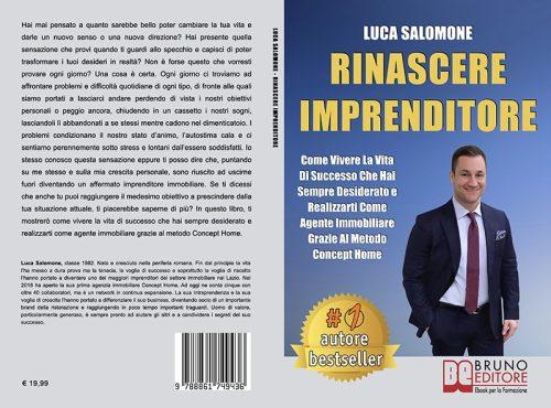 Luca Salomone, Rinascere Imprenditore: il Bestseller sull'importanza di tracciare la strada del successo personale e professionale